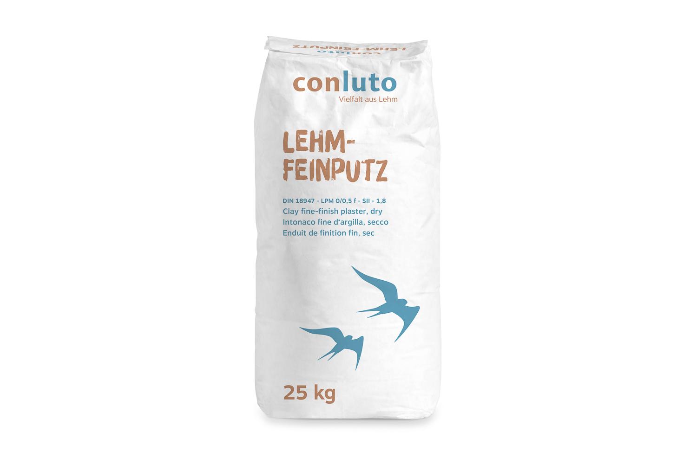 conluto Lehm-Feinputz