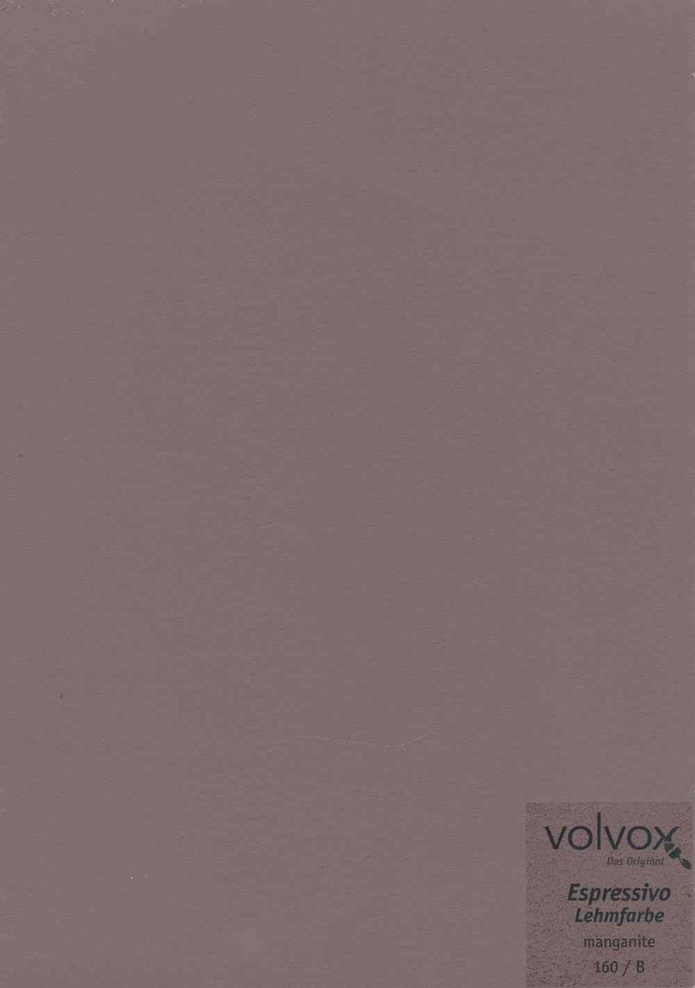 Volvox Espressivo Lehmfarbe 160 manganite