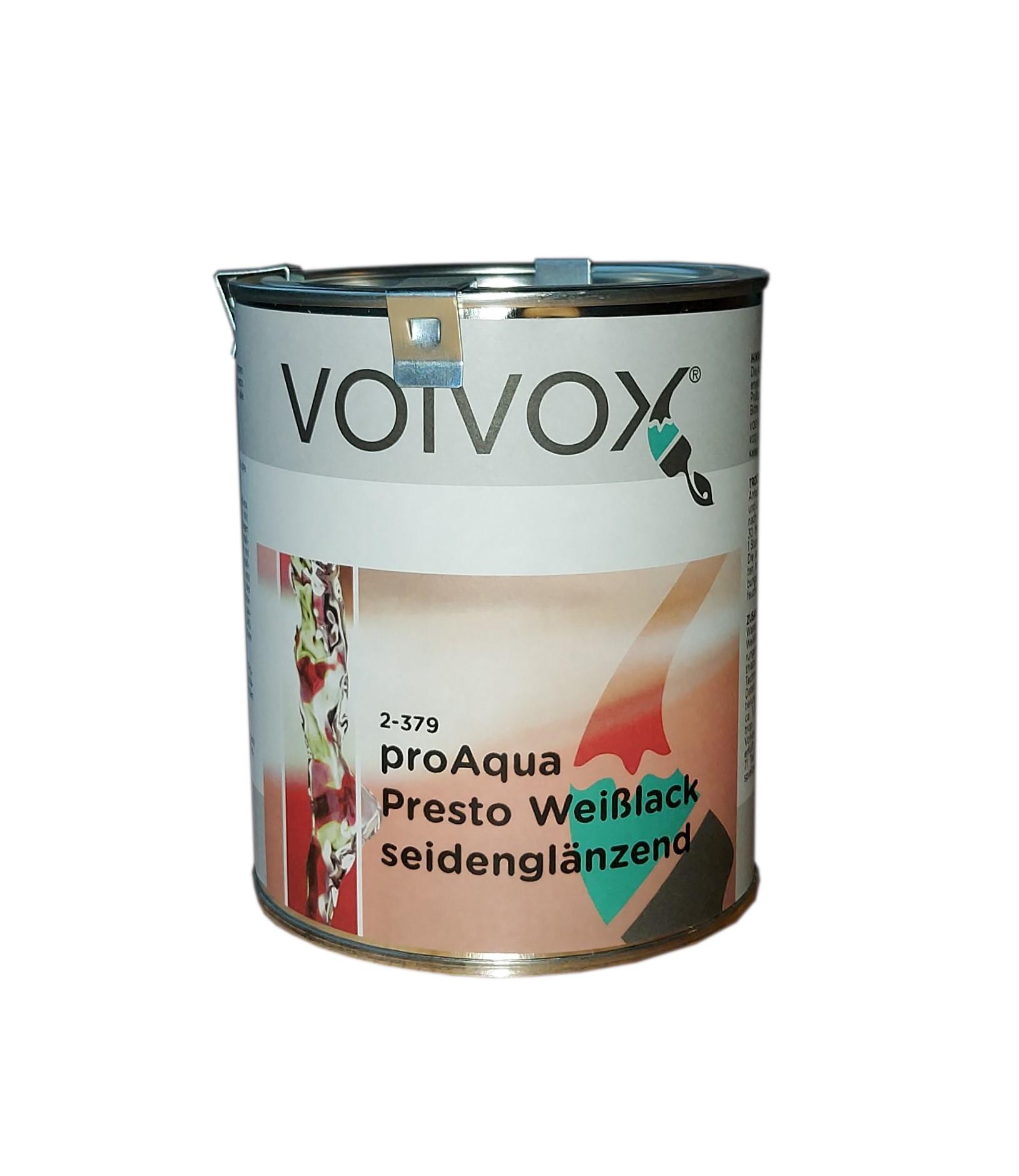 Volvox proAqua Weißlack · seidenglänzend