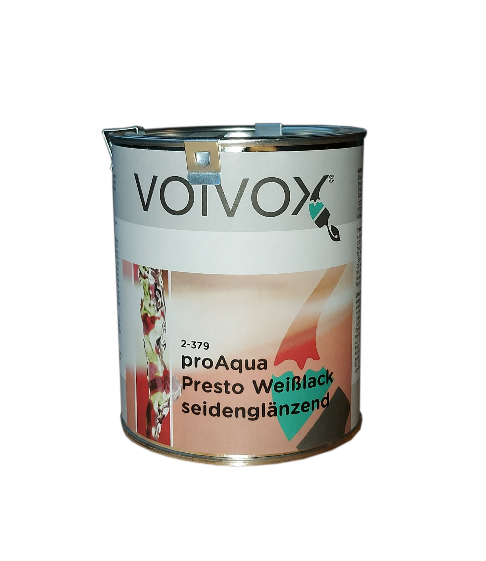 Volvox proAqua Presto Weißlack