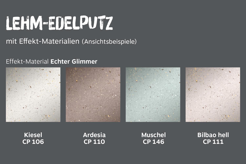 conluto Effektmaterialien · Echter Glimmer