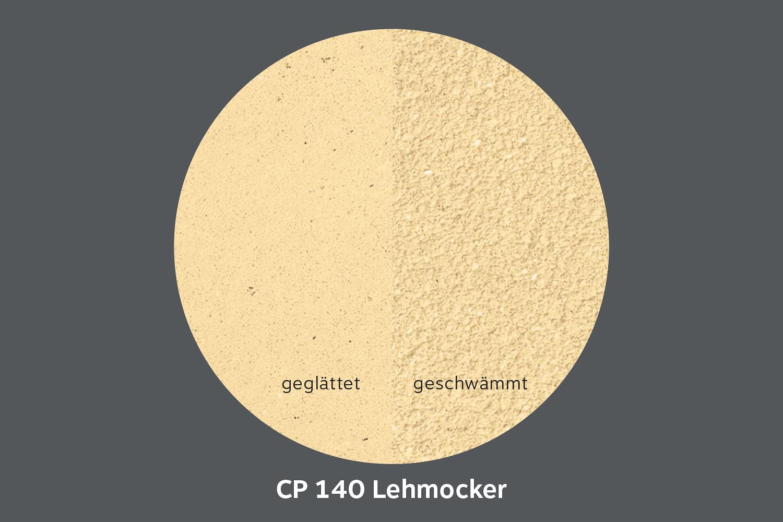 conluto Lehm Edelputz · Lehmocker · CP140
