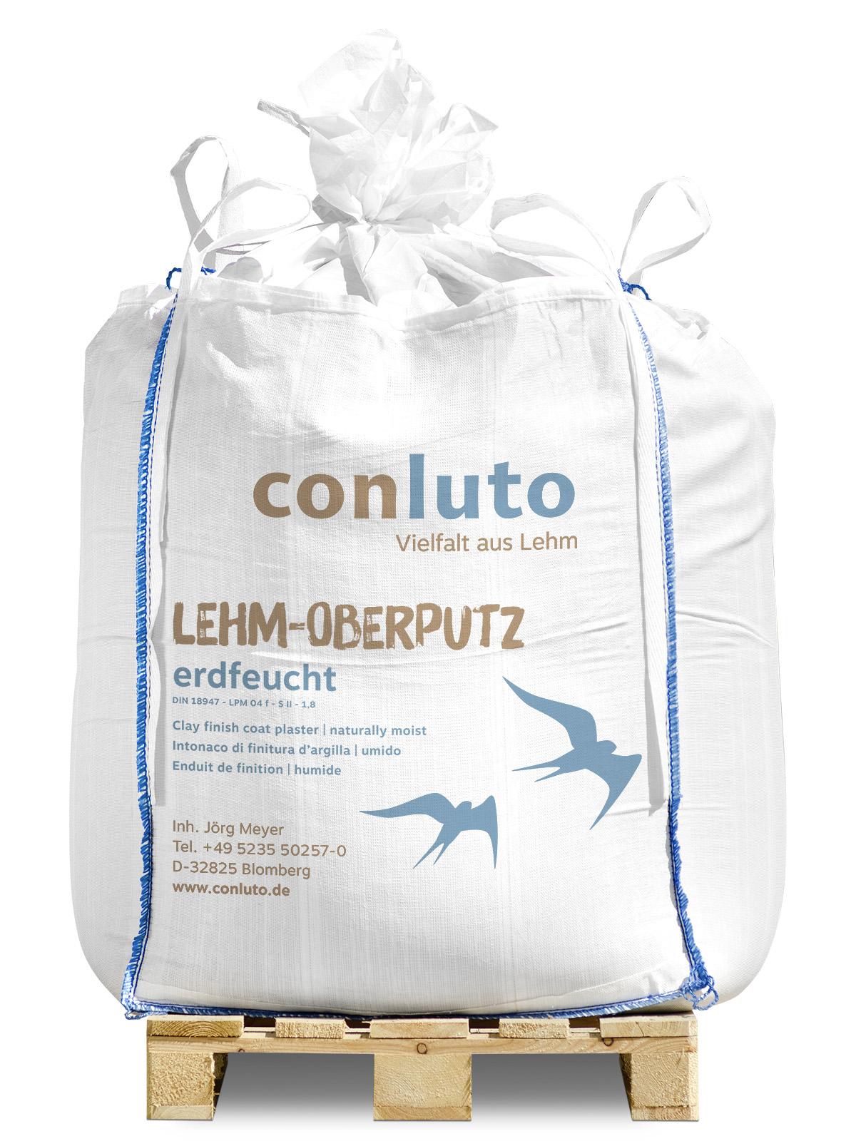 conluto Lehm-Oberputz erdfeucht