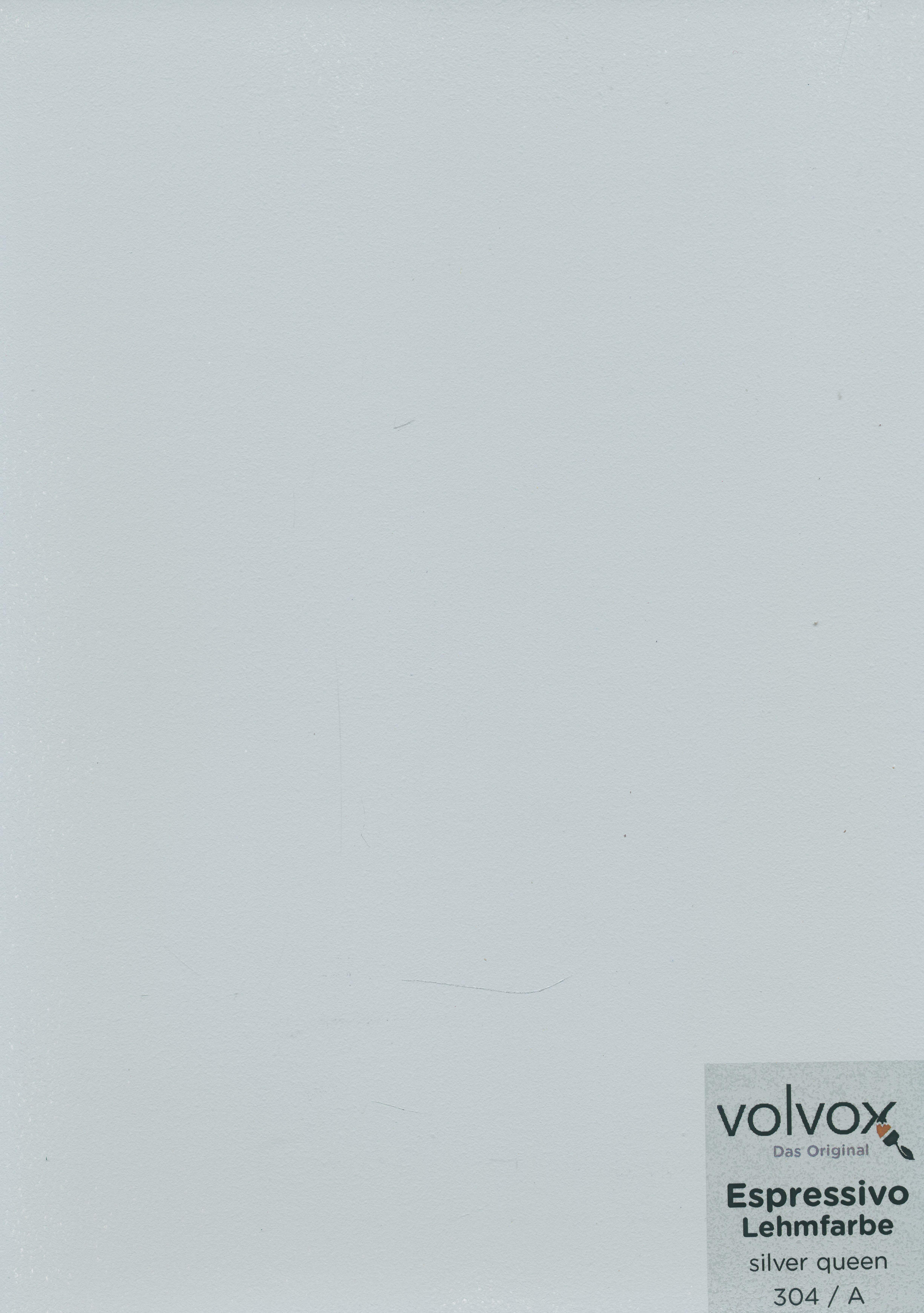 Volvox Espressivo Lehmfarbe 304 silver queen
