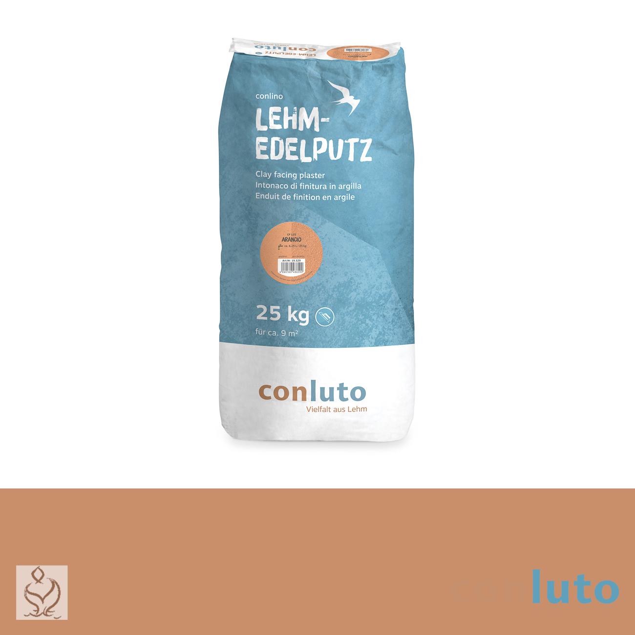 conluto Lehm Edelputz · Arancio · CP125