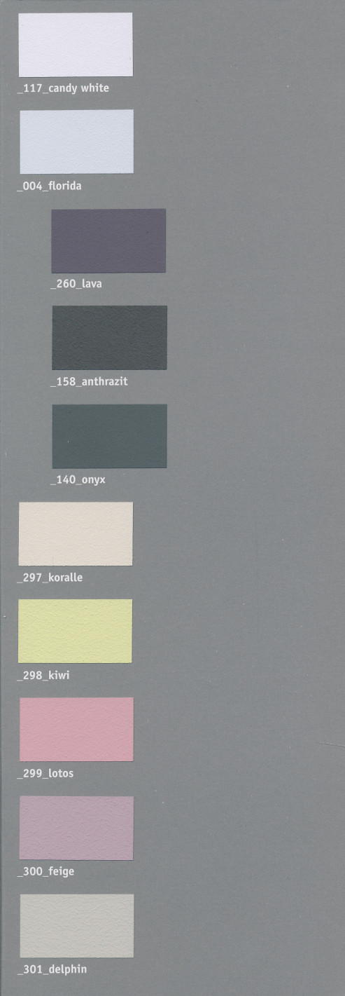 Volvox Espressivo Lehmfarbe 158 antrazit