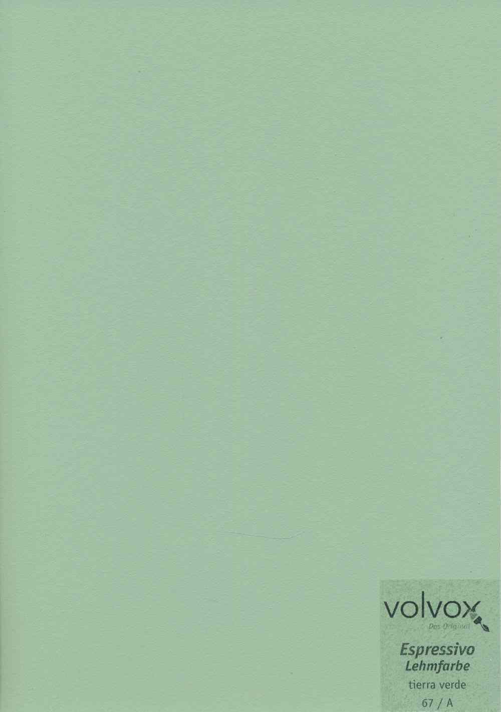 Volvox Espressivo Lehmfarbe 067 tierra verde