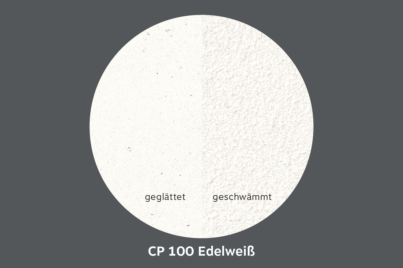 conluto Lehm Edelputz · Edelweiß · CP100