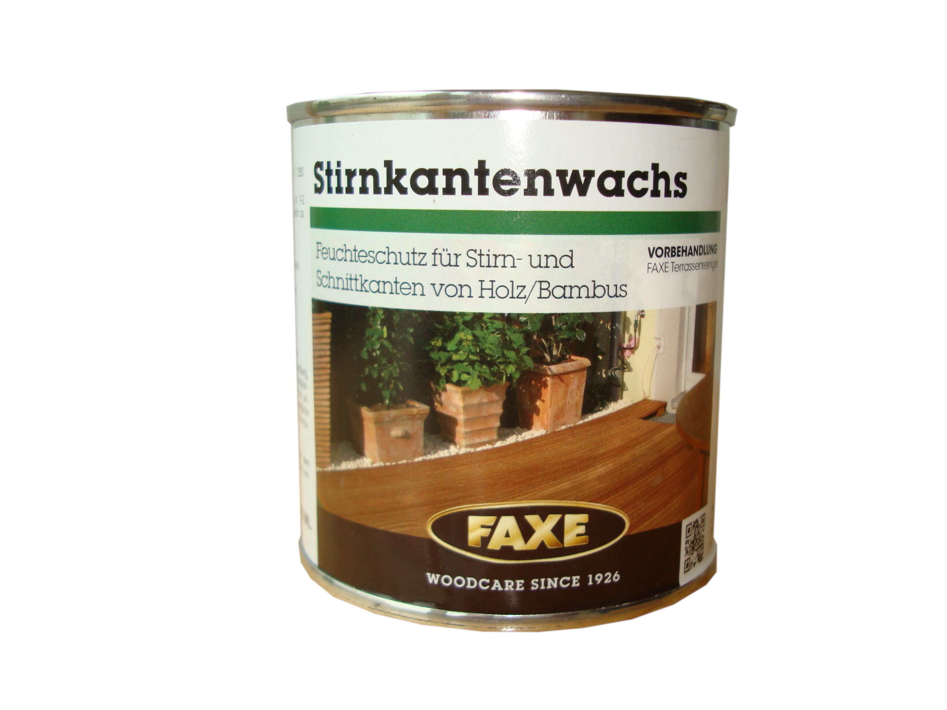 FAXE Stirnkantenwachs · 0,25 ltr