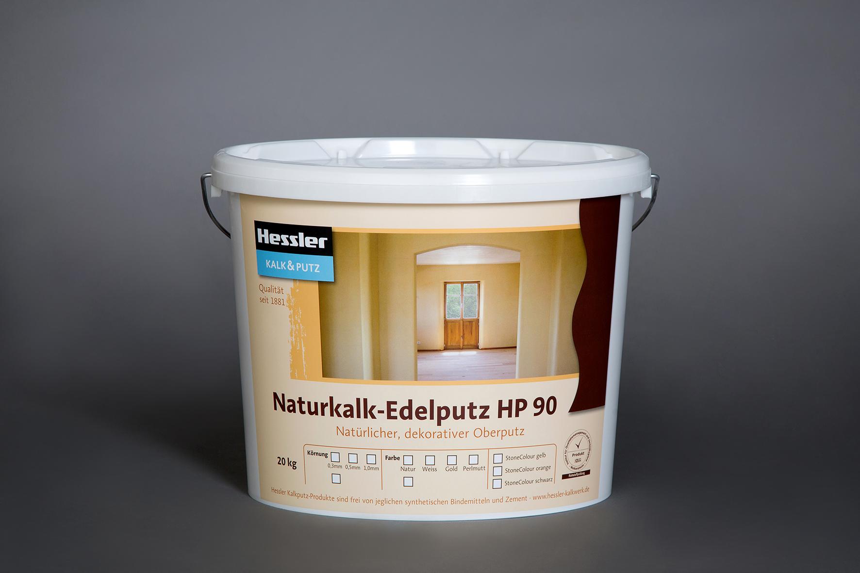 Hessler Kalk-Feinputz HP90 weiß