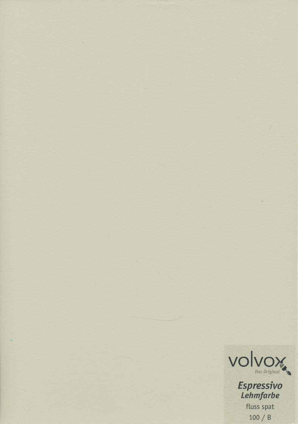 Volvox Espressivo Lehmfarbe 100 fluss spat