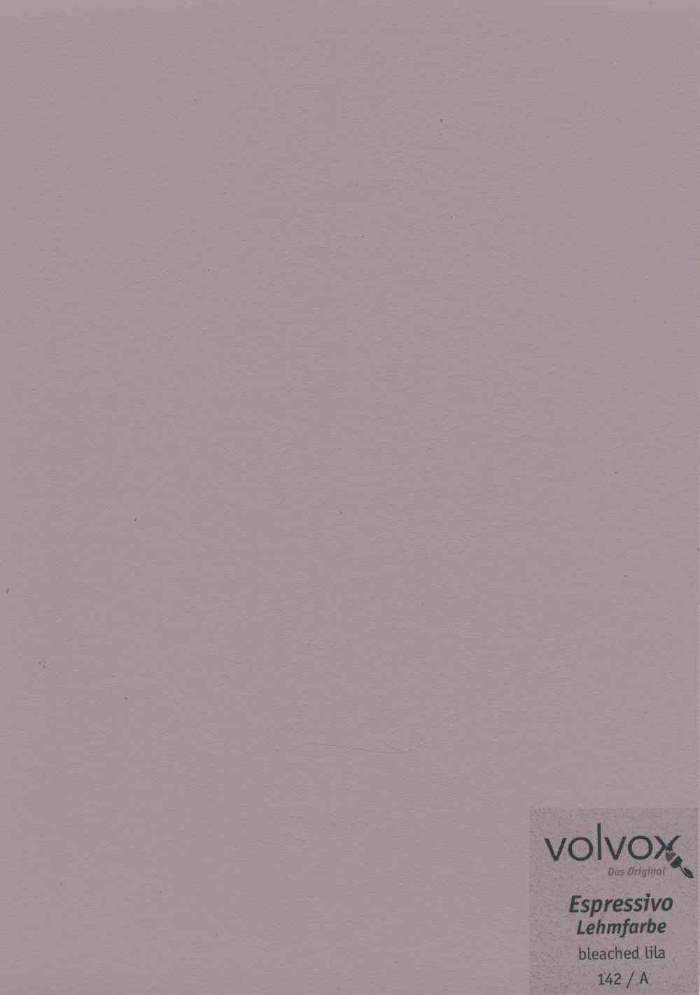 Volvox Espressivo Lehmfarbe 142 bleached lila